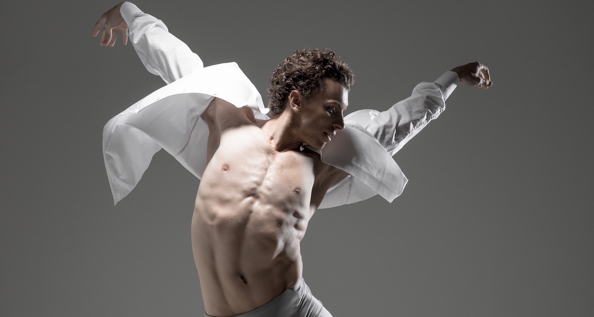 The Australian Ballet's Kevin Jackson. Photo by Daniel Boud.