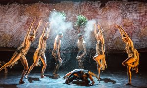 Bangarra Dance Theatre's 'OUR land people stories'. Photo by Vishal Pandey.