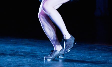 Tap dancer feet