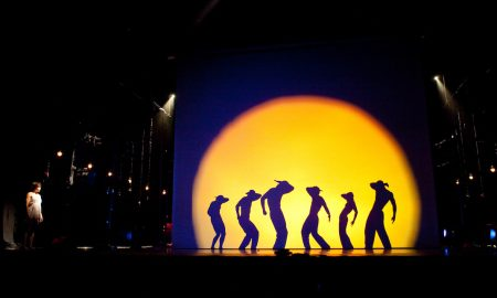 Pilobolus in 'Shadowland'. Photo by John Kane.