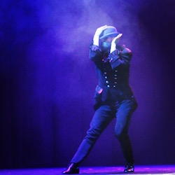 Robert Coglitore in 'The Illusionists' on Broadway. Photo by Claudia James.