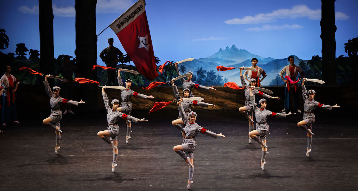 'The Red Detachment of Women'. Photo courtesy of The National Ballet of China.