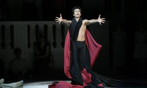 Alexandre Riabko in 'Nijinsky'. Photo by Jeff Busby.
