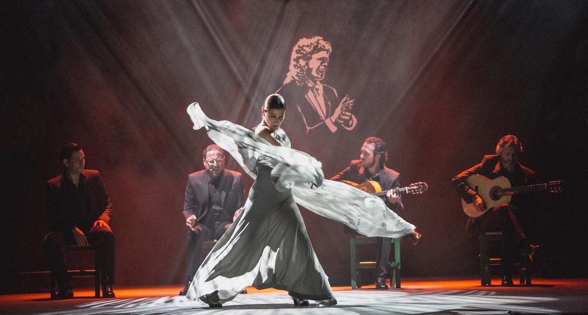 Ballet Flamenco in 'Voces'. Photo by Santana de Yepes.