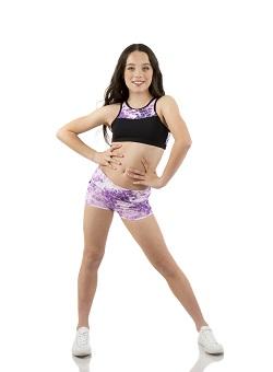Ella McMillan models Energetiks