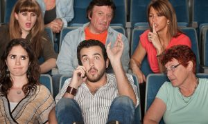 audience etiquette at a dance performance