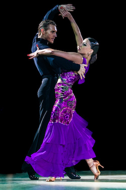 Dancesport competition
