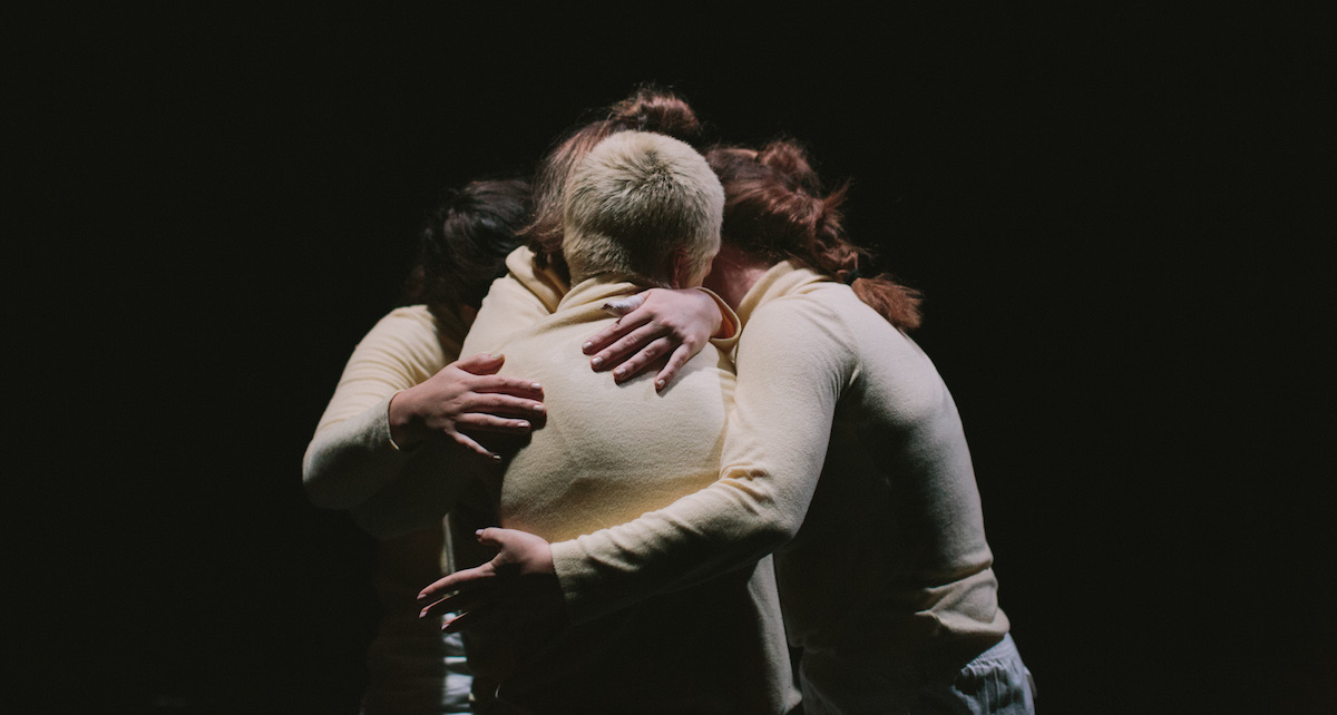 Ivey Wawn's 'Adventure Dances; summoning sensation'. Photo by Kate Disher-Quill.