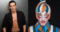 Joey Arrigo. Photo courtesy of Cirque du Soleil, 'Kooza'.