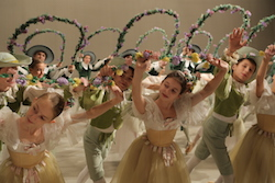 Students of the Bolshoi Ballet Academy. Photo courtesy of the Academy.