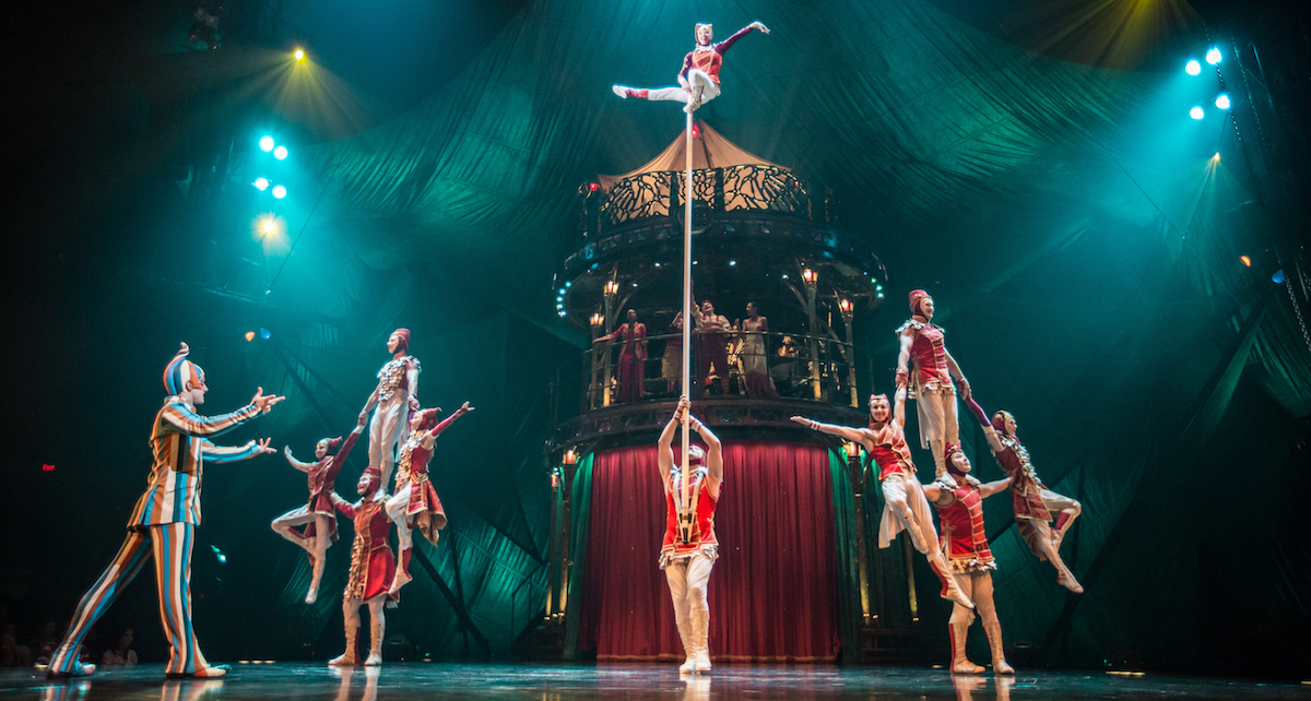 Cirque du Soleil's 'KOOZA', with costumes by Marie-Chantale Vaillancourt. Photo by Matt Beard.