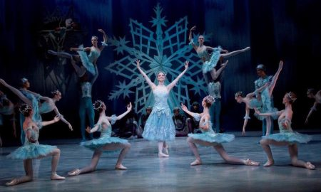 The Australian Ballet School in 'The Snow Queen'. Photo by Sergey Konstantinov.