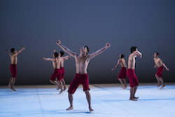 EkosDance Company's 'Cry Jailolo'. Photo by Jamie Williams.
