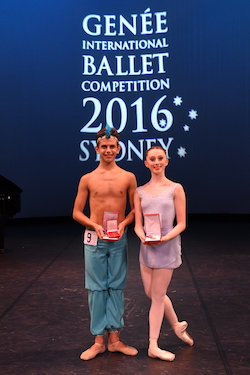 Joshua Price and Maeve Nolan. Photo by Winkipop Media, courtesy of the Royal Academy of Dance.