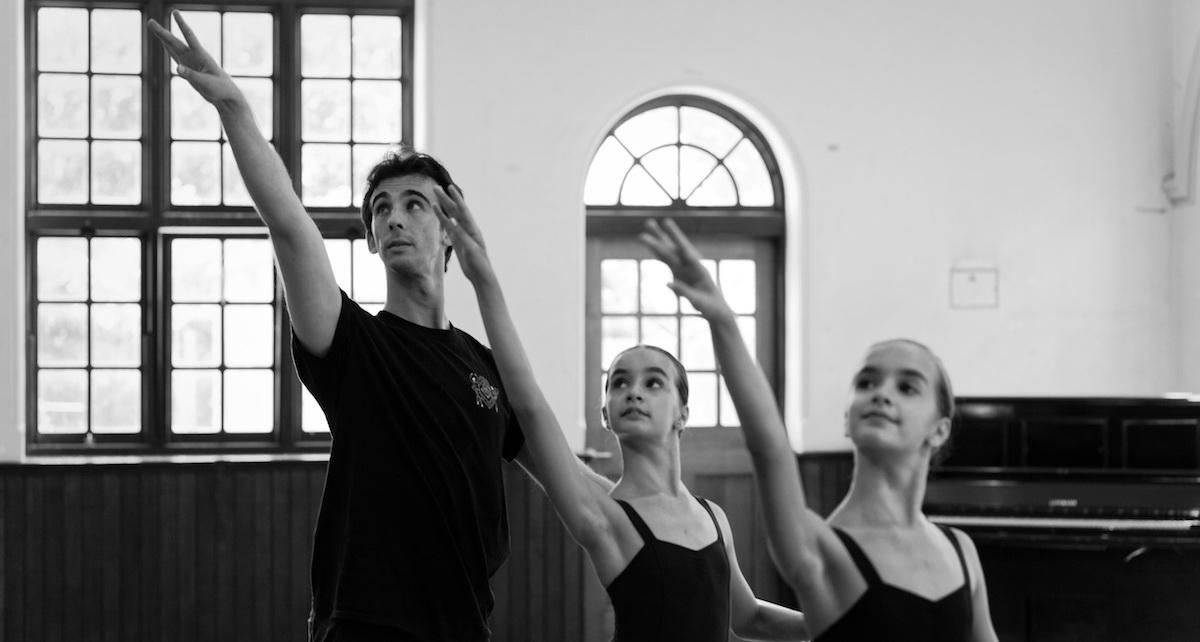 Kalman Warhaft, director of Melbourne Institute of Dance. Photo by Jason Lam.