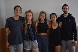 New Footnote Dance Company members. Photo courtesy of Footnote Dance Company.
