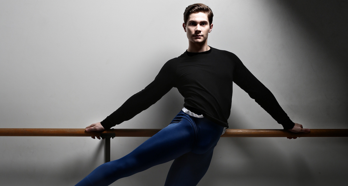 Queensland Ballet's Alexander Idaszak. Photo by David Kelly.