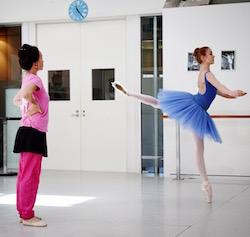 Rose Dalton with Lucinda Dunn. Photo courtesy of Dalton.
