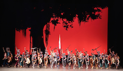 The Red Detatchment of Women. Photo courtesy National Ballet of China..