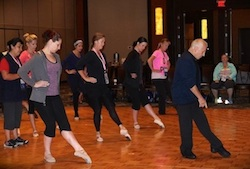 Dance teacher training event