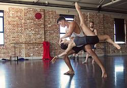 EDC's Jake McLarnon and Alana Sargent. Photo by Samara Sutton-Baker.