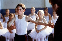 Jamie Bell in 'Billy Elliot'. Photo_ Mirror.