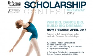 Joffrey Ballet School Scholarship Giveaway