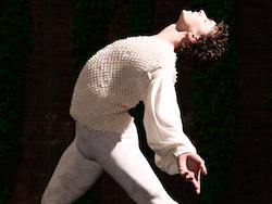 Kevin Jackson as Romeo in 'Romeo and Juliet'. Photo by Georges Antoni.
