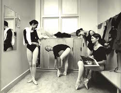 New Zealand School of Dance students in 1967. Photo courtesy of NZSD.