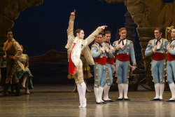 Sasha Radetsky in 'Don Quixote'. Photo by Rosalie O'Connor.