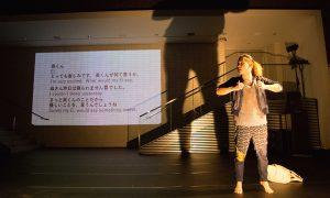 Dancer Wataru Kitao in Suguru Yamamoto's 'The Unknown Dancer In The Neighbourhood'.Photo by Ryuichiro Suzuki