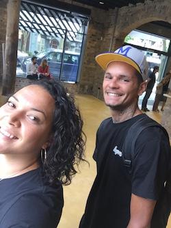 Jacqui Cornforth and Darren Compton. Photo courtesy of Muggera.
