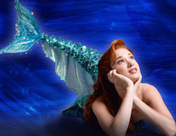 Ariel in The Little Mermaid on Broadway