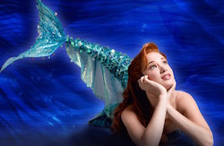 Sierra Boggess in 'The Little Mermaid'. Photo by Per Breiehagen.