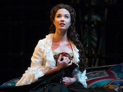 Sierra Boggess in 'The Phantom of the Opera'. Photo courtesy of Supplied.