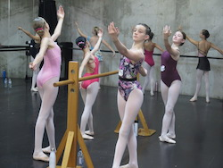 Students at International Ballet Workshops. Photo courtesy of IBW.