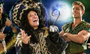 Peter Pan panto by Bonnie Lythgoe Productions