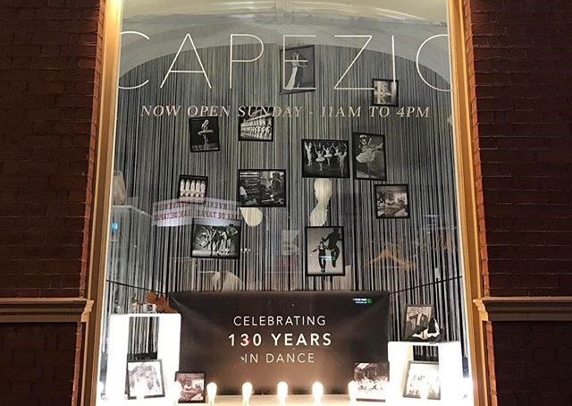Capezio dancewear celebrates 130 years.