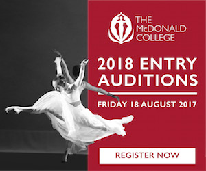 McDonald performing arts college auditions August