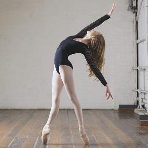 Australian ballerina and Capezio Athlete Talia Fidra.