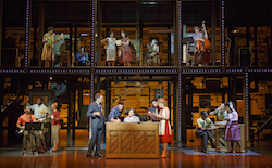 The Broadway cast of 'Beautiful: The Carole King Musical'. Photo by Joan Marcus.
