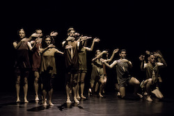 Sydney Dance Company in Gabrielle Nankivell's 'Wildebeest'. Photo by Pedro Greig.