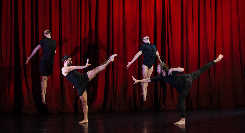 Sydney Dance Company in Rafael Bonachela's 'Frame of Mind'. Photo by Pedro Greig.