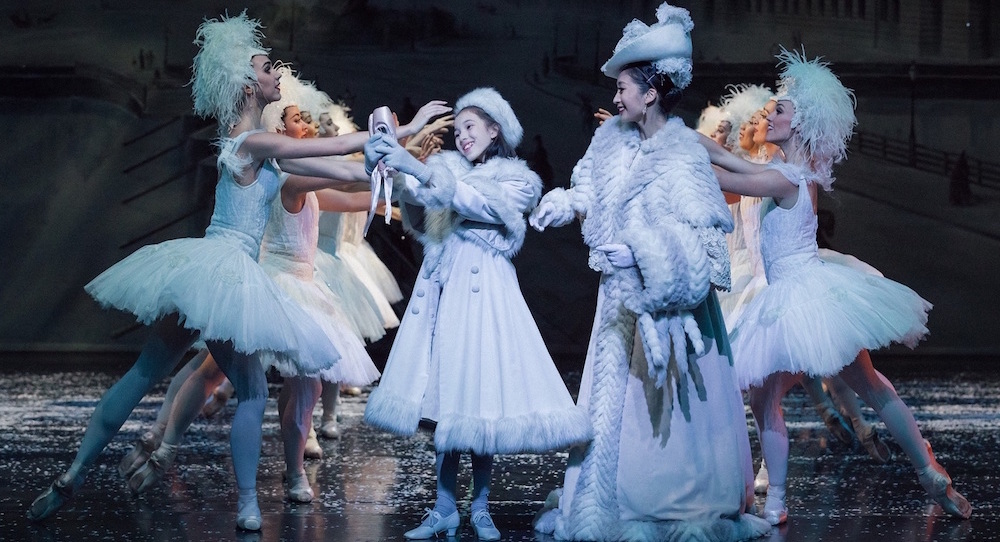 The Australian Ballet in Graeme Murphy's 'Nutcracker: The Story of Clara'. Photo by Daniel Boud.