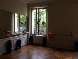 Xtend Barre studio in Paris. Photo courtesy of Xtend.