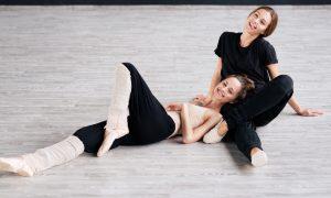 dancers winter warm up