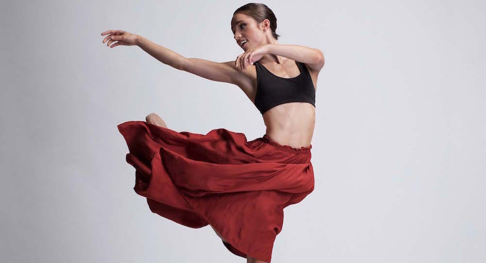 Lucy Green, soloist with Queensland Ballet. Photo by David Kelly.