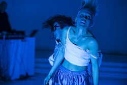 Natalie Abbott's '(re)PURPOSE: the MVMNT'. Photo by Gregory Lorenzutti for Dancehouse.
