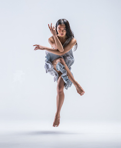 New Zealand School of Dance student Christina Guieb. Photo by Stephen A'Court.