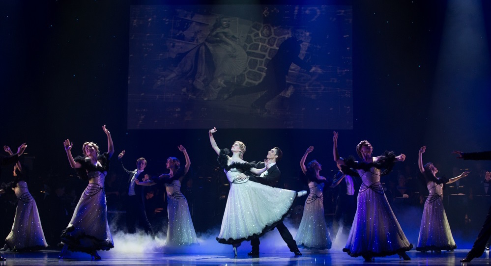 Principal Clare Morehen and Christian Tatchev in QB's 'Strictly Gershwin'. Photo by David Kelly.